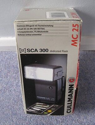 Cullmann Flash MC25 SCA 300 original box + instructions and booklets