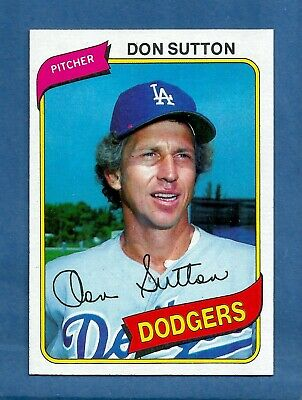 1980 Topps Don Sutton Los Angeles Dodgers #440 MINT Condition & Well Centered! Los Angeles Dodgers Center