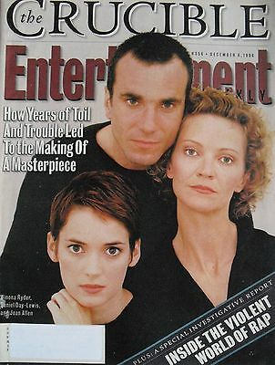 Winona Ryder  Daniel Day Lewis  Joan Allen 1996 Entertainment Weekly Magazine