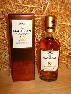 The Macallan 10 sherry - 50ml / 5cl - 40% - SPEYSIDE...