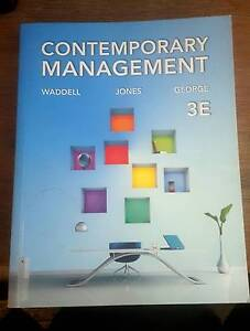 Contemporary Management (3rd ed.) New condition.. Mindarie Wanneroo Area Preview
