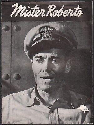 MISTER ROBERTS Broadway souvenir program HENRY FONDA & DON FELLOWS photos 1948