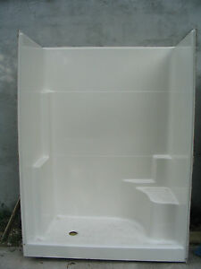 One Seat Walk In Shower Stall Will Ship At Your Cost Ebay