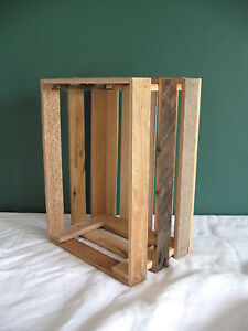 Barnwood Barn wood wooden crate rustic apple dvd