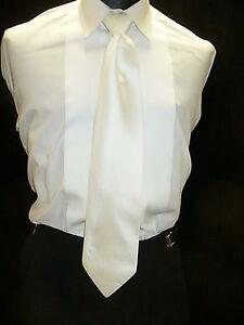 USED-Necktie-Pretied-IVORY-N802
