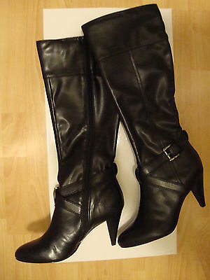 Womens Alfani Bernie Black Boots 7 M Shoes