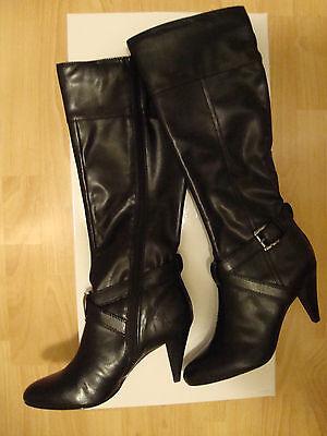Womens Alfani Bernie Black Boots 7 M Shoes