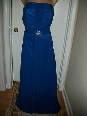Formal Evening Ball Wedding Bridesmaid Gown Prom Dress Party Cocktail Size Xl >