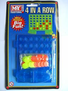 FOUR-IN-A-ROW-Connect-4-MINI-GAME-Games-Toys-GM