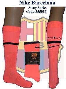 Barcelona Away Socks Size Adults UK 7.5-11 (Euro 42-47) Mango