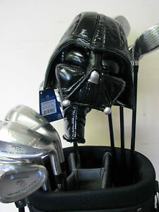 1-NEW-STAR-WARS-DARTH-VADER-Golf-PUTTER-or-HYBRID-Headcover-Head-Cover