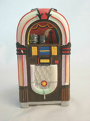 1950s Jukebox Dollhouse Miniature Music 1/12 Scale T5950 Diner
