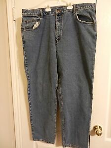 High-Sierra-Blue-Stonewash-Denim-Jeans-Mens-Size-42x32-42-x-32-100-Cotton-EUC