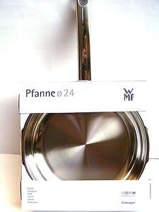 wmf pfanne 24 cm favorit cromargan edelstahl induktion profi neu 9034 bratpfanne. Black Bedroom Furniture Sets. Home Design Ideas