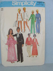 Simplicity-Sewing-Pattern-7737-Wardrobe-for-fashion-dolls-such-as-Barbie-Ken