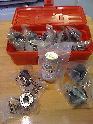 """Edwards Ironworker 12-set new round tooling kit - 1/32"""" sizes"""