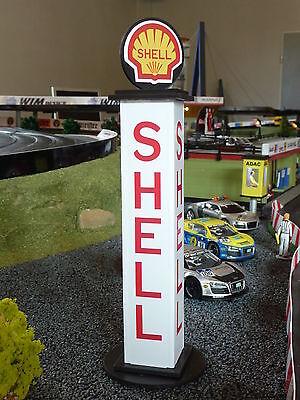 SHELL TURM in 1:32 Kunststoff für Carrera UNIVERSAL SERVO EVOLUTION Deko   85555
