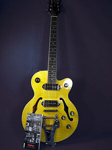 Epiphone Wildkat Semi-Hollowbody Antique Natural Electric Guitar  **AAAA MINT**