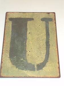 Metal-Letters-Signs-Alphabet-Letter-U