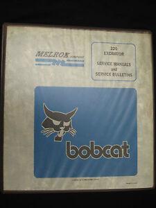 Bobcat-220-Excavator-S-N-15001-Above-Service-Manual