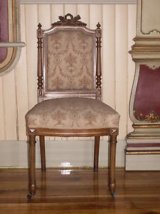 SET-OF-4-ANTIQUE-FRENCH-EMPIRE-SATINWOOD-SIDE-CHAIRS