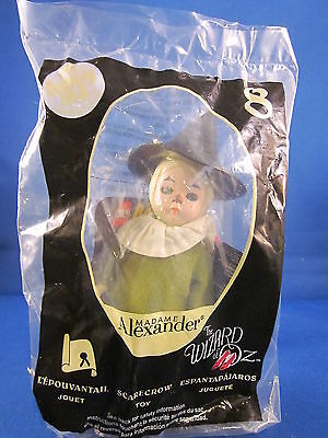Mcdonalds Happy Meal Madame Alexander Wizard Of Oz Scarecrow Doll 8 2008