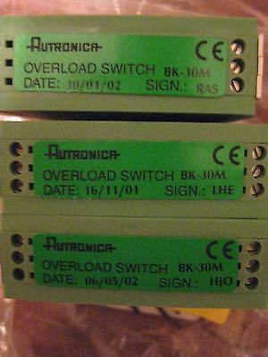 Autronica Overload Switch Bk-30m Phoenix Radio Frequency Isolator New