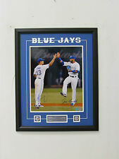 Toronto Blue Jays Brett Lawrie Jose Bautista Dual Signed MLB Framed 16x20 Photo
