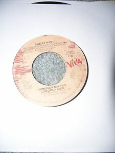 Shelly West 45 Somebody Buy This Cowgirl a Beer / Small Talk rpm record 7