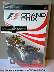PSP - F1 Grand Prix -*-New/Sealed-*- Formula 1 UMD Game