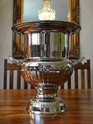Sektkühler Silber Luxus Weinkühler Sektkübel Eiskübel Champagner Edel Antik NEU