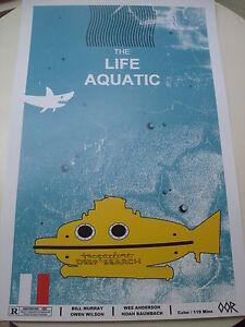 The Life Aquatic movie poster print