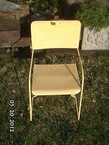 Antique Children 039 S Motel Lawn Patio Furniture Chairs Amp Vintage Glider C