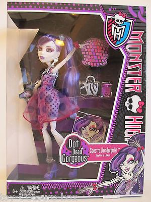 Monster High Dot Dead Gorgeous Spectra Vondergeist Doll - Daughter of a Ghost
