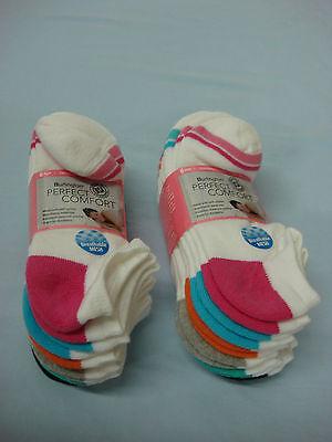 Women's Burlington Perfect Comfort Cushioned No Show Socks Multi 12 Pair