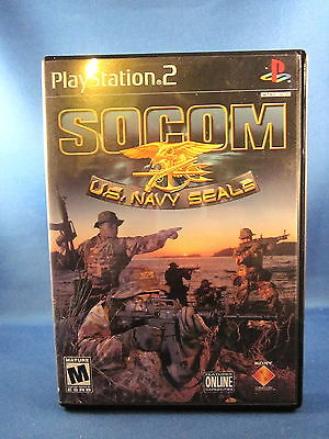 Sony Playstation Ps2 Socom Us Navy Seals Complete