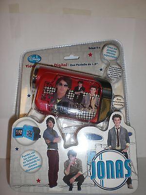 Disney Red Jonas Video Camara Digital / Digital Video Camera In Spanish