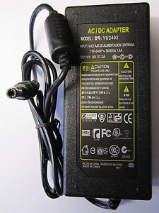 24V-2A-2000mA-AC-DC-Switching-Adapter-Desktop-Power-Supply-YU2402-PSU-2-5-2-1