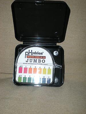 Ph Test Paper Phydrion Insta-chek 0-13 Jumbo