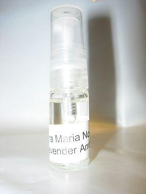 S M Sm Santa Maria Novella Lavender Amber Perfume 3 Ml Lavanda Cologne Unisex