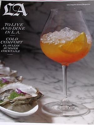 La Times Magazine August 2011 Live   Dine In La
