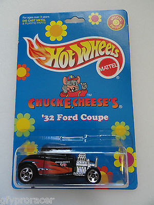 Hot Wheels 1998 Chuck E Cheese's 32 Ford Coupe Special Edition