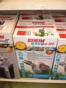 Eheim Aussenfilter eccopro 300 (2036 020) mit Filtermasse