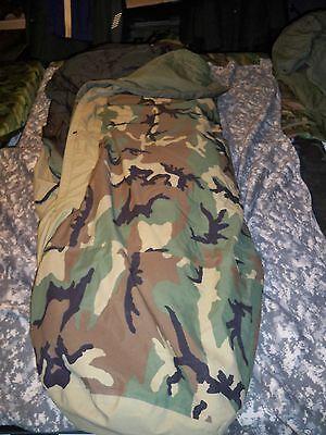 4 PIECE MODULAR SLEEP SYSTEM US ARMY SLEEPING BAG MSS GORETEX MILITARY FAIR COND