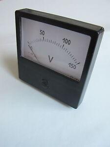 0-600mA-0-750A-0-600V-0-3kV-1-5-Ammeter-Kiloammeter-Kilo-Voltmeter-M42300