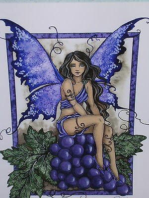 Amy Brown - Vineyard Faery - OUT OF PRINT
