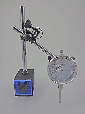 iGaging Magnetic Base with Dial Test Indicator Fine Adjustment 176#  80kg Magnet