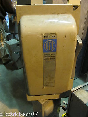 Ite Jn424 200 Amp 240 Volt 3 Phase Fusible Disconnect
