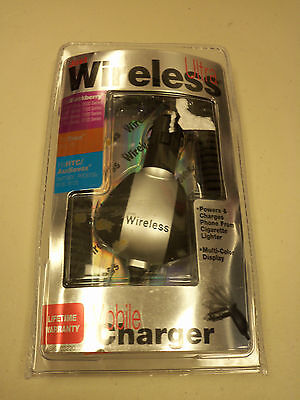 Just Wireless Ultra Mobile Charger Blackberry Teo Htc Audiovox