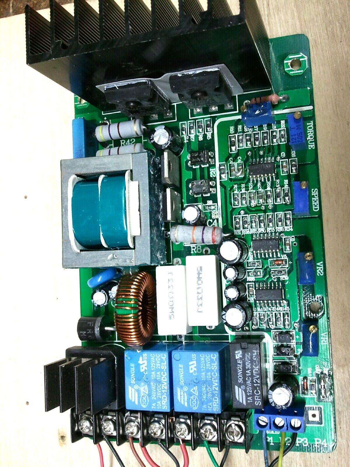 Mini Lathe Mini Mill Pmdc Motor Speed Controller Repair